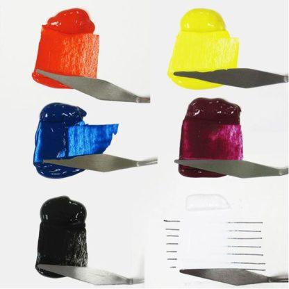 A Heritage Matte Acrylic 6 Color Set Set 2 1/2 oz