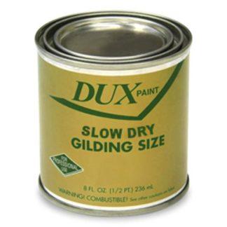 GOLD SIZE DUX SLOW DRY GILDING SIZE  1/4pt / 04oz
