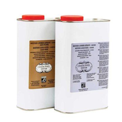 GOLD SIZE LeFRANC MIXTION OIL SIZE - Charbonne Quick 250ml 8.4oz