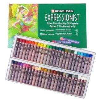 Cray-Pas Expressionist Oil Pastels -48 Color Set