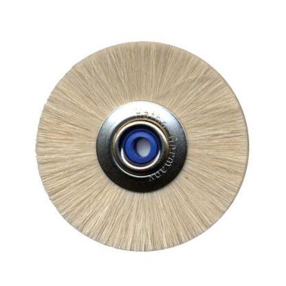 "2"" soft nylon brush with a 3/16"" arbor hole A-W301"
