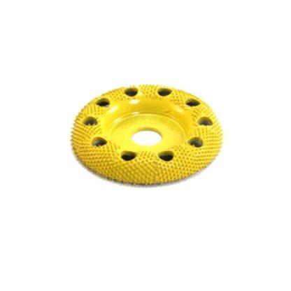 "Saburr-Tooth 2"" Donut Wheel Round Face W/ Holes Fine Grit)"