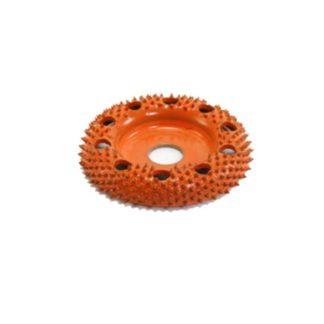 "Saburr-Tooth 2"" Donut Wheel Round Face W/ Holes (Ex-Coarse Grit)"