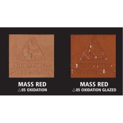 """Mass Red"" Terra Cotta No Grog Moist Clay 50Lb Box"