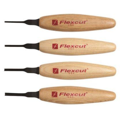 Flexcut MT700 60 deg. Parting Micro Tool Set