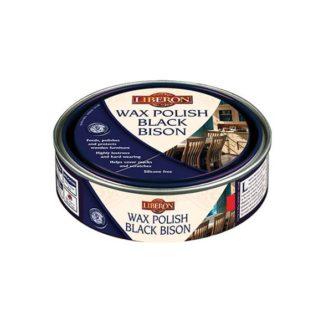 Wax Polish Black Bison Paste - Clear 150ml