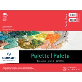 "12"" X 16"" Canson Paper Palette"