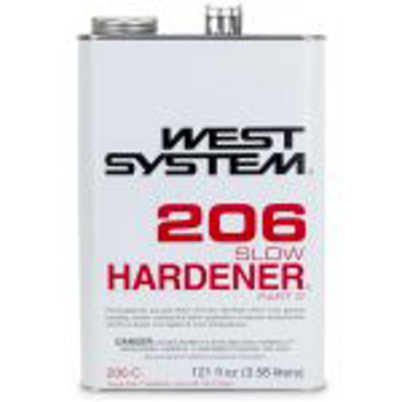 206 C Slow Hardener 0 94 Gal Greg Dorrance Co