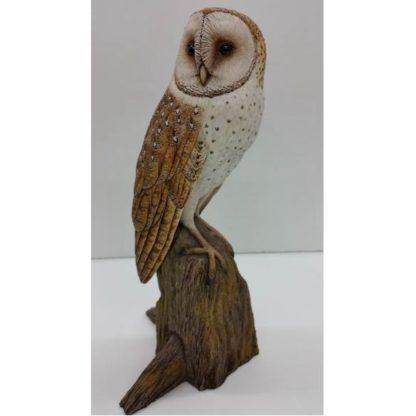 Owl, Barn (1/2 life size) with Base, Jerry Simchuk study cast