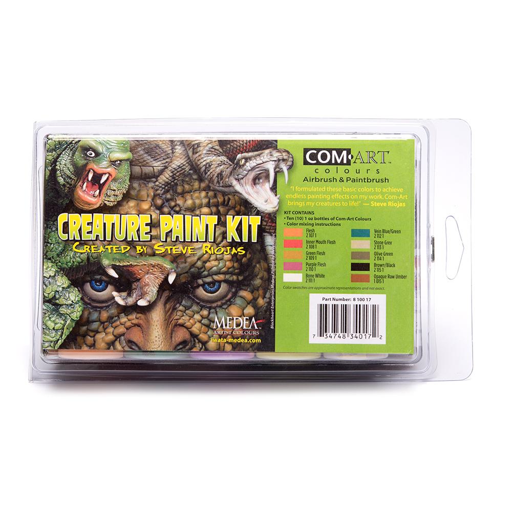 Com Art Airbrush Paint Set Creature Kit Created By Steve Riojas